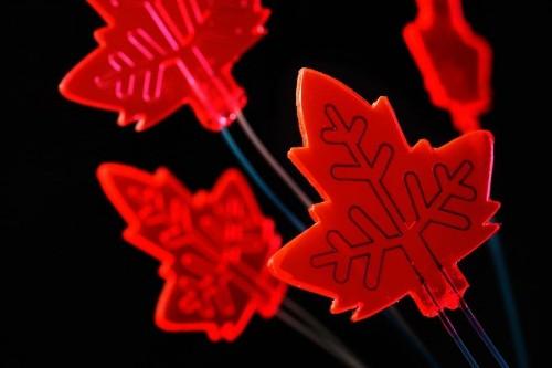 Artificial leaf captures light to power drug production