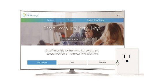 SmartThings And Samsung Team Up To Make Your TV A Smart Home Hub