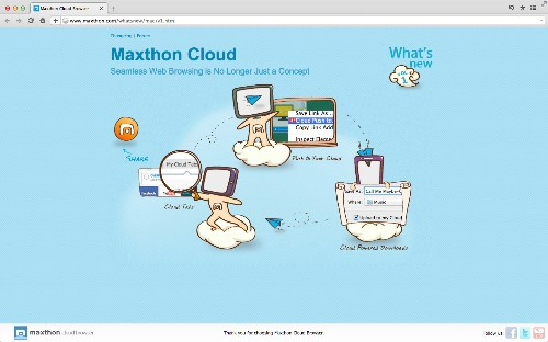 Maxthon Is A Cloud-Based Browser For Power Users