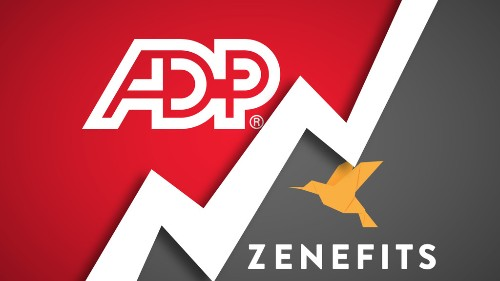 ADP Sues Zenefits For Defamation, Rolls Out A Competing Service