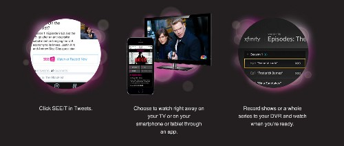 SEEiT, The Feature That Turns Twitter Into A Remote Control For Comcast Subscribers, Rolls Out This Week