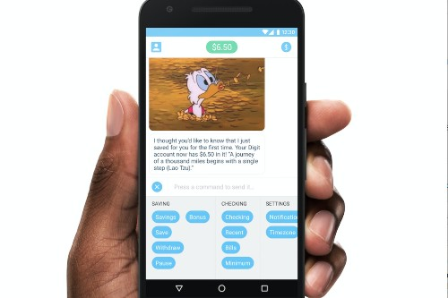 Digit, a simple app to help you save, launches Android app
