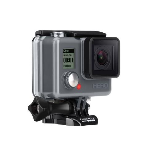 GoProの129ドルの新しいエントリーモデルHeroはアクションカメラのキングだ