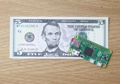 Holy Smoke! New Raspberry Pi Zero Costs Just $5…