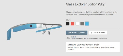 Google Glass Goes On Sale Outside The US