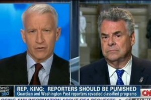 Congressman King Wants To Punish Journalists Who Published NSA Leaks