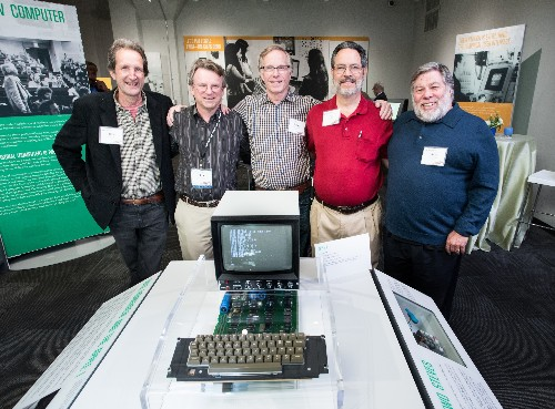 Steve Jobs' custom Apple I and other historic machines are on display at Seattle museum