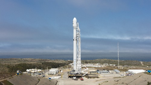 Watch SpaceX launch 10 satellites into orbit with a Falcon 9 live right here