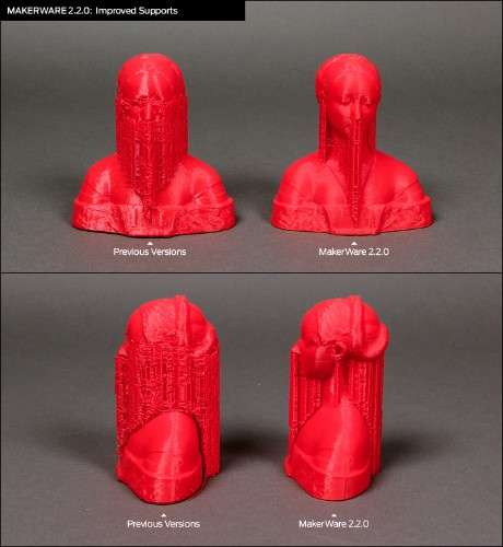 Makerbot Updates Their Design Software And Firmware To Make 3D Printing Easier