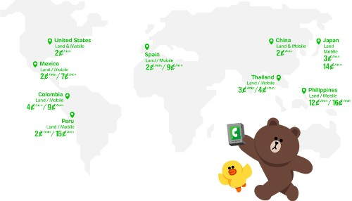 LINE's Cheap Voice Service, LINE Call, Now Live For Android Users Of The Messaging App In 8 Markets