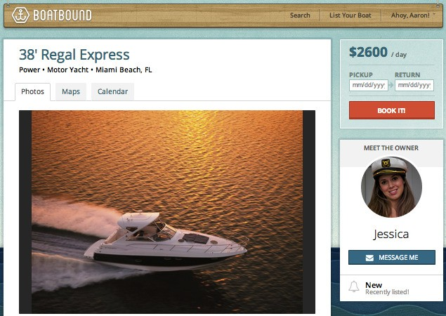 Boatbound Launches 'Pier-To-Pier' Boat Rental Marketplace