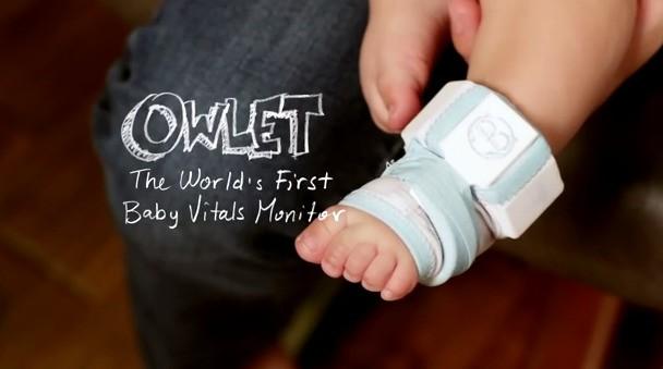 ウェアラブルの新展開?! 赤ちゃんの健康管理のためのOwlet(スマート靴下)