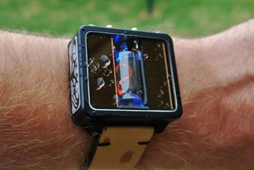 These Hand-Made, Solar-Powered Nixie Watches Are Retro-Tastic