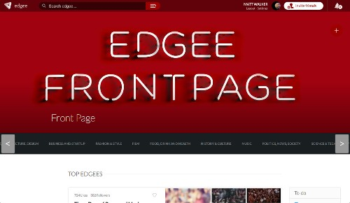 Edgee Finds Space Between A Blog And A Tweet