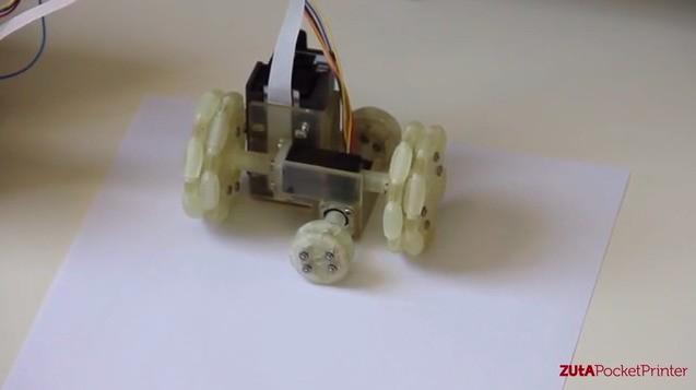 Zuta Labs Is Making An Inkjet Printer That Rolls Free