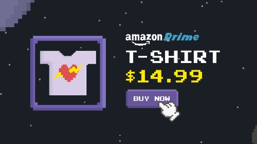 Amazon Introduces Merch By Amazon, A Way For Game Developers – Or Anyone – To Sell Print-On-Demand Tees