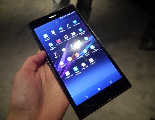 The Xperia Z Ultra, Sony's Mini-Tablet Sized Phone, Wants You To Talk Less & Watch More