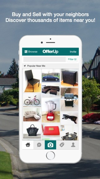 Sell your clothing and electronics with these apps