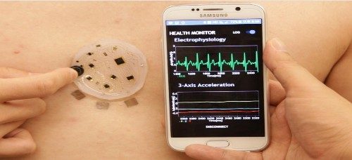 New wearable tracker can transmit vital signs from a soft, tiny package
