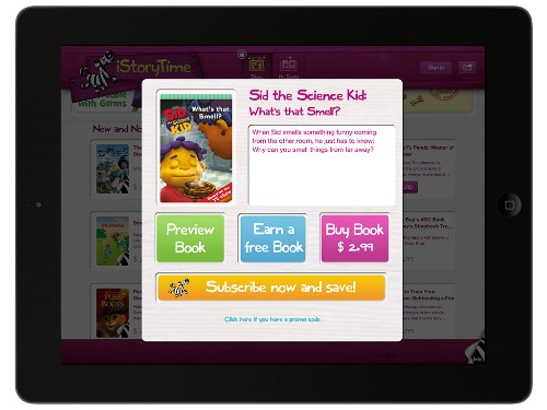 """iStoryTime Debuts A """"Netflix For Ebooks"""" For Kids"""