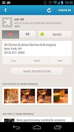 Foursquare、レストラン予約サービスのOpenTableと連携。電話無用の発見・予約プラットフォームを実現