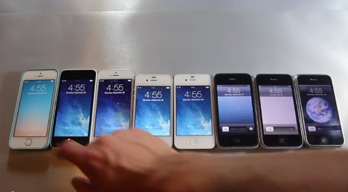 Video: Every iPhone Ever Gets Speed Tested Side-By-Side