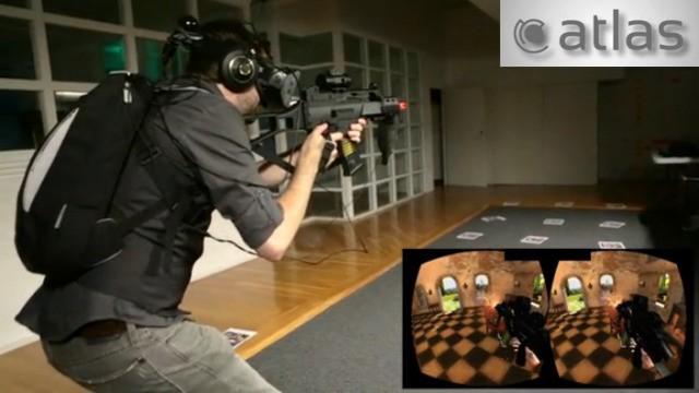 一般ユーザーもガレージをVR空間に変えて飛んだり走ったりできる―Atlas Rift 3Dゴーグル用のiPhoneアプリ、Kickstarterで予約受け付け中