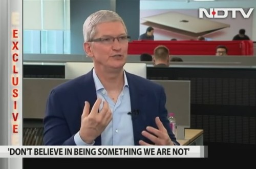 Tim Cook admits 'prices are high' for iPhones in India