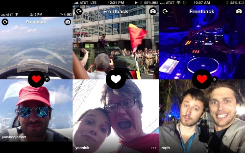 Frontback Is A Deeply Personal Photo-Taking App To Capture Fleeting Moments