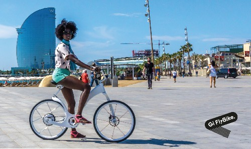 Ditch The Faux Hoverboard And Commute With Gi FlyBike, A Foldable Electric Bike