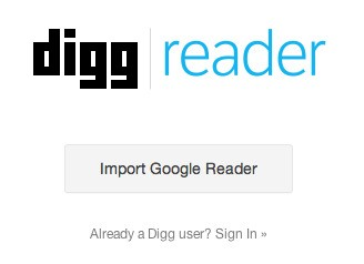 Digg Reader Is Now Open