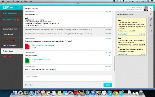 Fleep, The Team Messaging App Built & Funded By 'Skype Mafia', Adds Mac, Windows And Android Apps