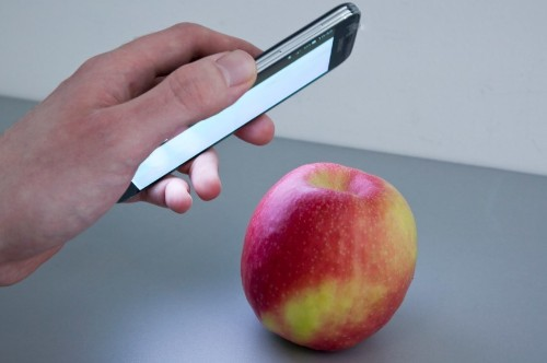 This app uses spectral analysis to analyze objects and their makeup