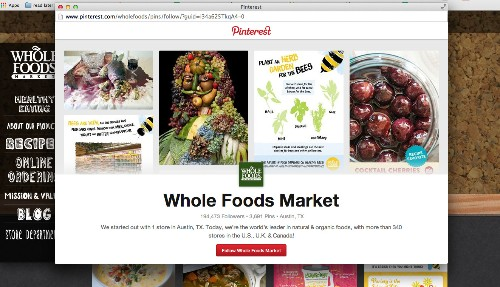 Pinterest Steps Outside Its Walled Garden With New Animated Follow Button For Brands