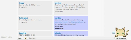 Coinchat Is A Chatroom Where Talking Sense Earns You Bitcoin