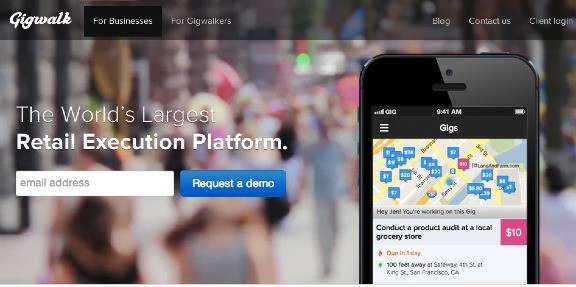 Mobile Workforce Startup Gigwalk Pivots, Raises $10M From Nokia And Others