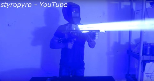 """This portable 200W """"laser bazooka"""" is terrifying and unnecessary — and I want one"""