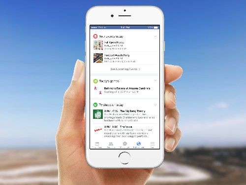 Facebook Here, Google Now