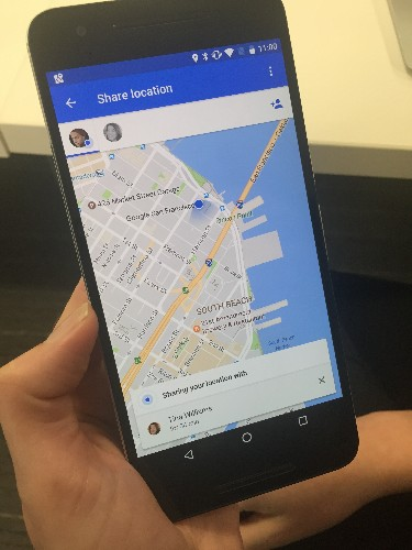 Google Maps will let you share your location with friends and family for a specific period of time