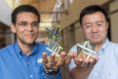 Shape-shifting '4D' printed objects could pave the way for outer space structures