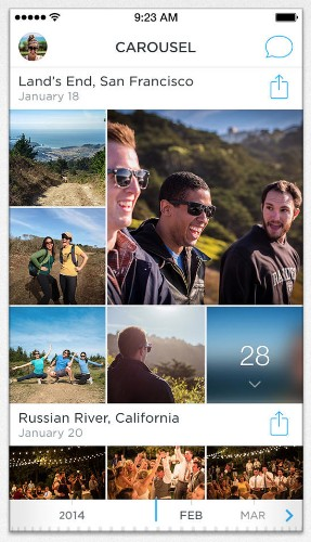 Hands-On Video Of Carousel, Dropbox's Replacement For Your Camera Roll