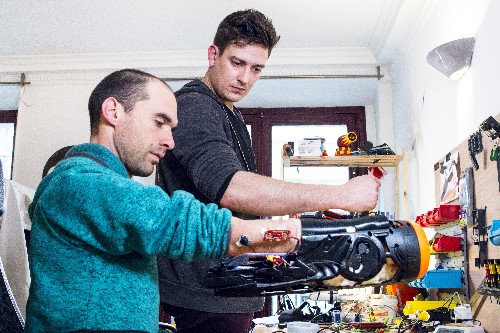 These hackers put together a prosthetic Nerf gun