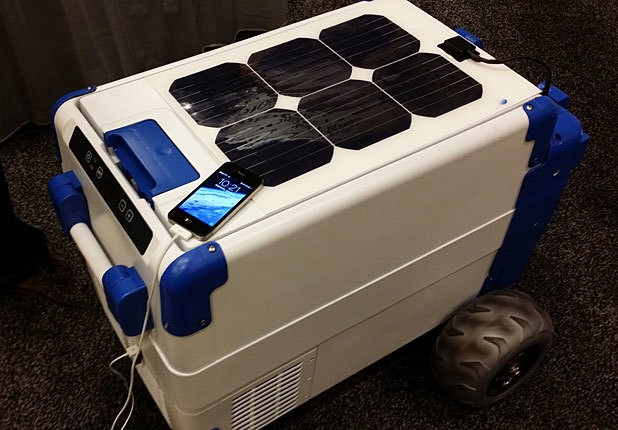 SolarCooler Keeps Your Brews Icy With The Power Of The Sun, But It'll Cost You $1K