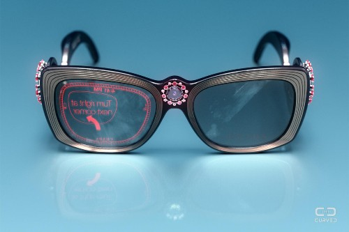 What Would Google Glass Look Like If It Was Designed By Prada?