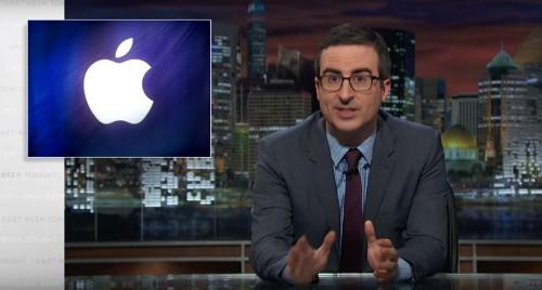 John Oliver dives into the iPhone FBI encryption debate