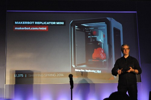 MakerBot Unveils The Replicator Mini, Z18, And A New Prosumer Replicator