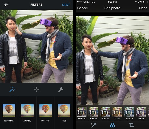 Twitter Copies Instagram With New Adjustable Photo Filters