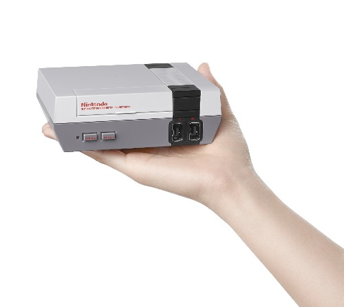 Nintendo is launching a mini version of its iconic NES console with 30 classic games