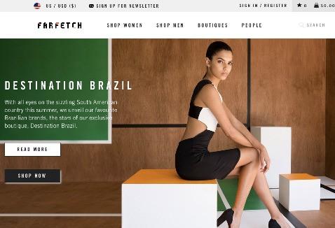 Farfetch, An Online Marketplace For Designer Fashion Boutiques, Raises $66M