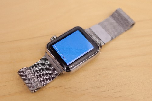 Windows 95 on the Apple Watch features the world's most twee Start button
